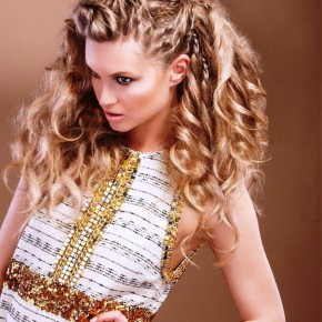 Long Party Hairstyles 2013 For Blonde Women