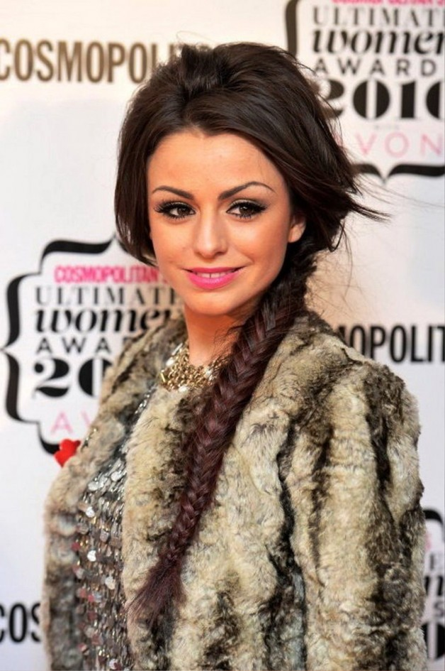 Long Party Hairstyles 2013 For Women With Braids
