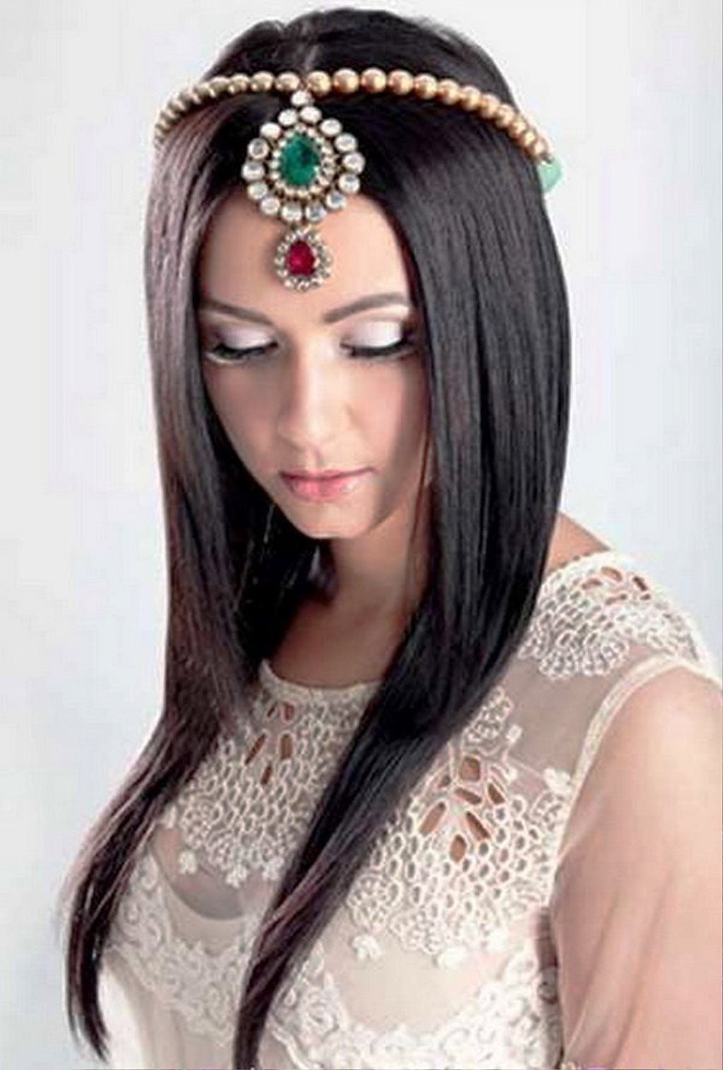 Prime Pictures Of Long Straight Bridal Hairstyles Short Hairstyles Gunalazisus