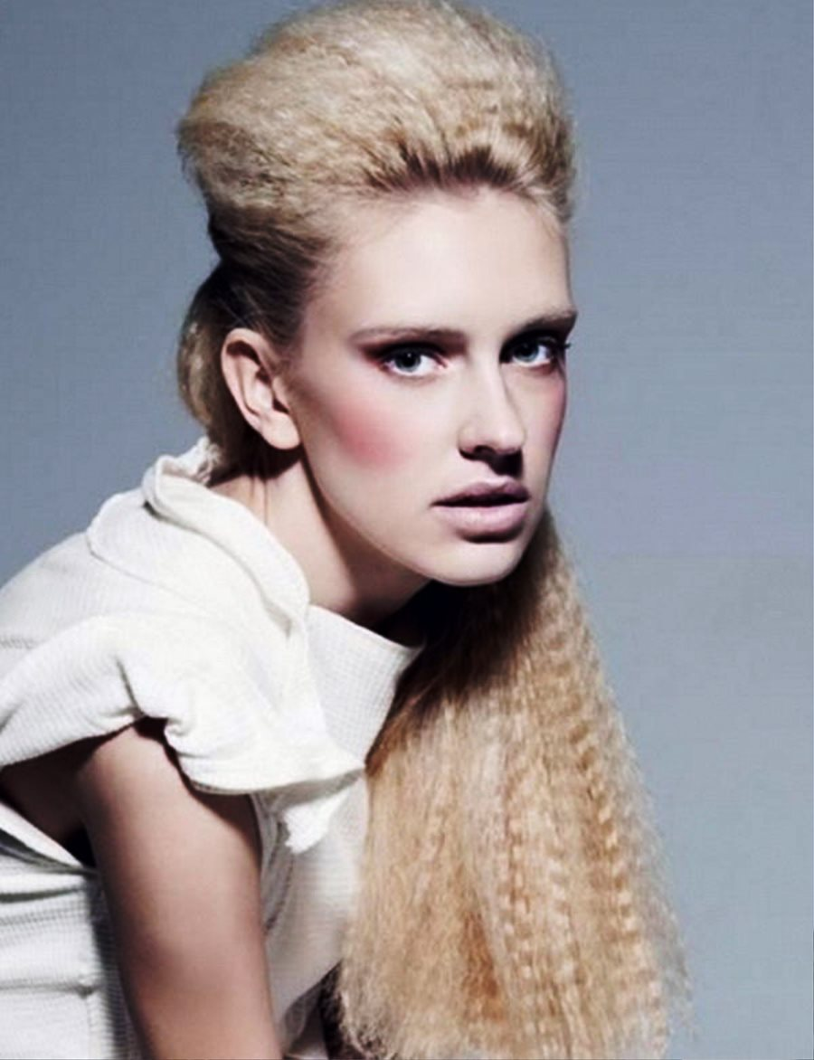 Pictures of Long Straight Prom Hairstyles 2013