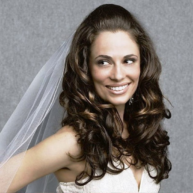 Wondrous Long Wedding Hairstyles For Curly Hair Behairstyles Com Hairstyle Inspiration Daily Dogsangcom