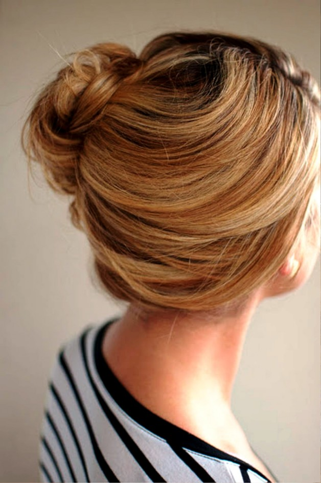 Loose Side French Twist Updo For Summer