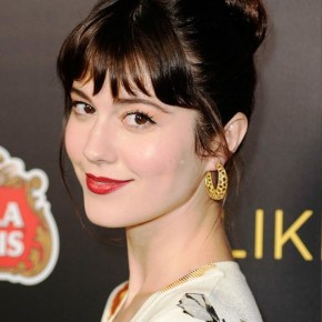 Mary Elizabeth Winstead Cute Bun Updo Hairstyles