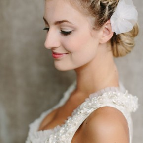 Medium Hair Updos For Wedding