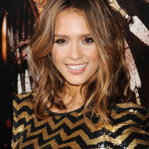 Medium Length Hair Jessica Alba