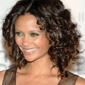 Medium Black Curly Hairstyles