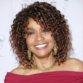 Medium Curly Hairstyle For Women Over 50s