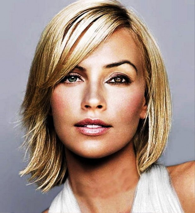 Medium Hairstyles For Thick Hair 2013