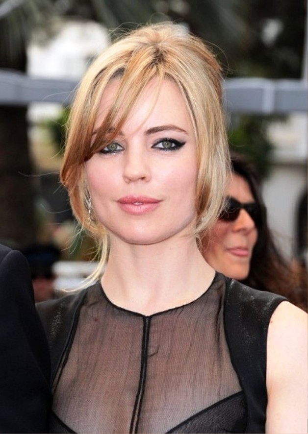Melissa George Loose French Twist