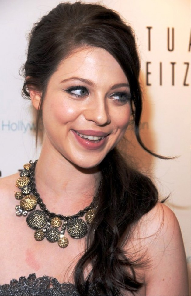 Michelle Trachtenberg Loose Ponytail Hairstyles