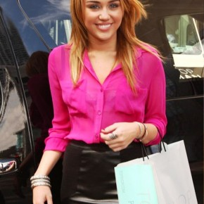 Miley Cyrus Hairstyle 2012