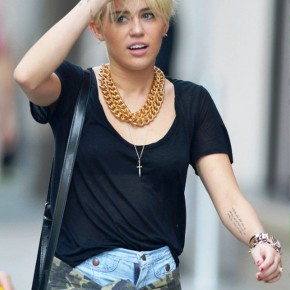 Miley Cyrus New Short Hairstyle