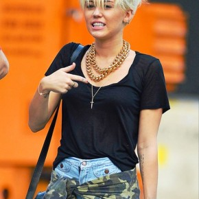 Miley Cyrus New Short Pixie Haircut