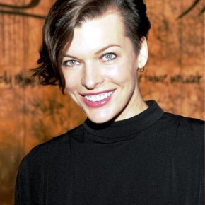 Milla Jovovich Short Wavy Hairstyles For Women