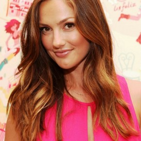 Minka Kelly Long Wavy Hairstyles