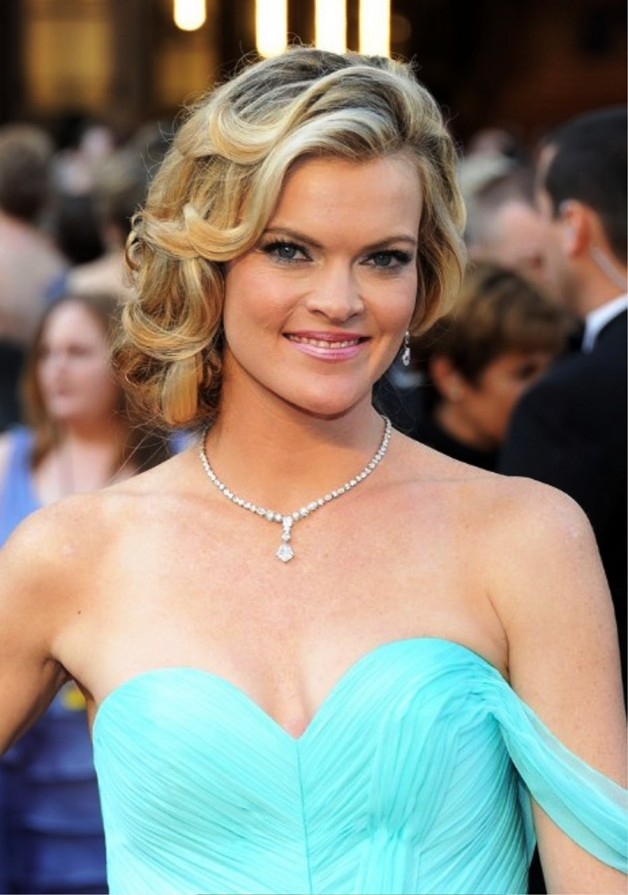 Missi Pyle Ombre Wavy Hairstyle