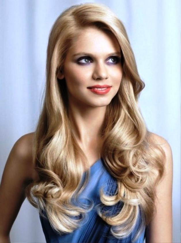 Modern Long Hairstyles With Round Face