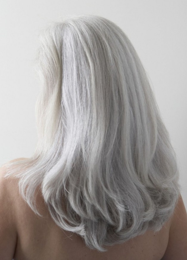 Natural Hair Styles Gray Hair