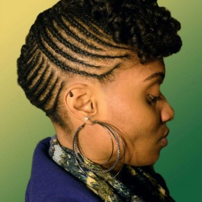 Natural Hairstyles Mohawk