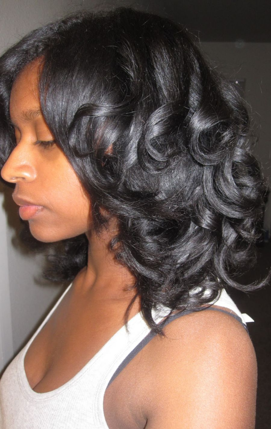 how to cut split ends on african american hair