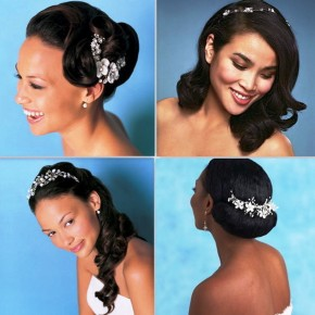 Natural Bridal Hairstyles For Black Women