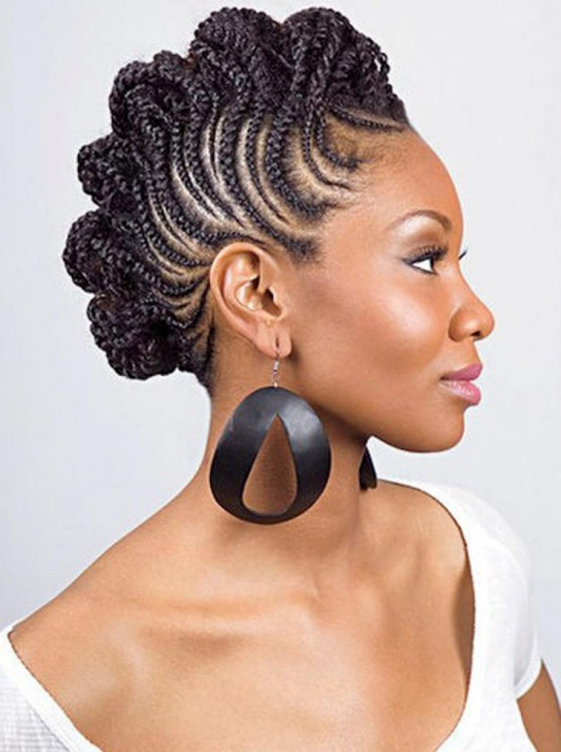 Natural Hairstyles for Black Women Braids