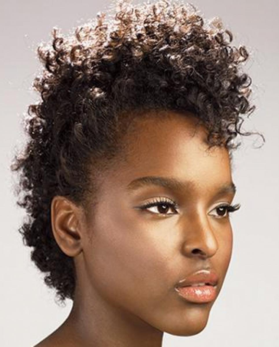 Natural Mohawk Hairstyles Black Women Pictures