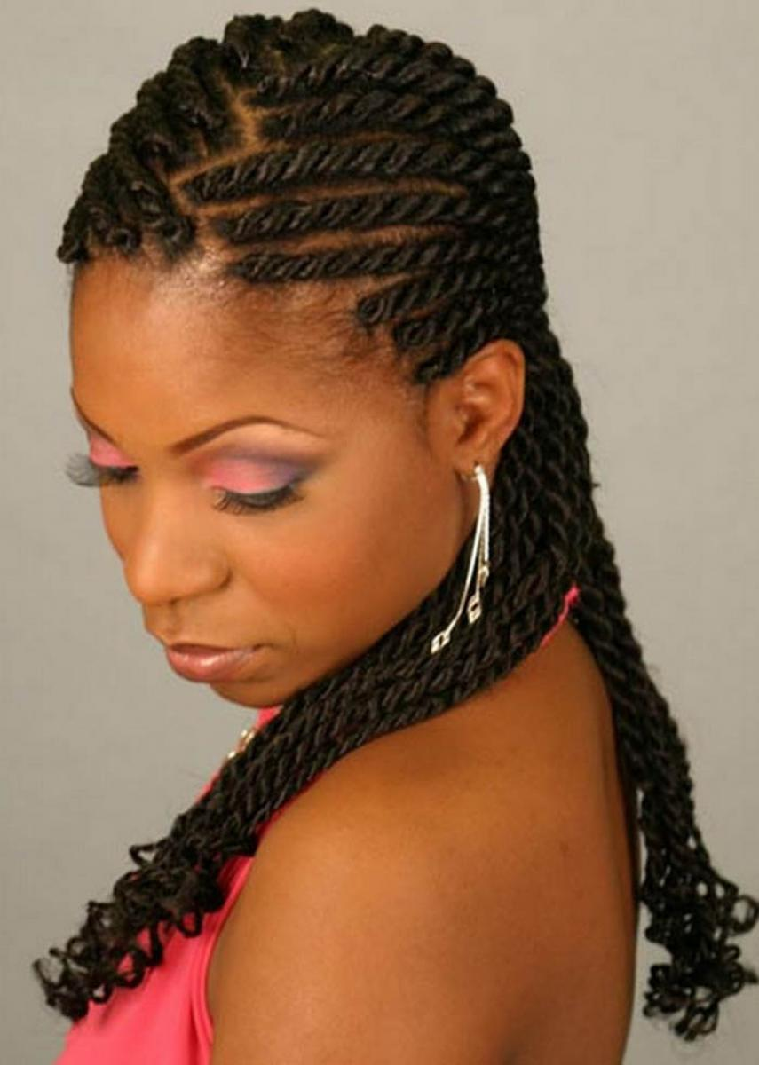 Pictures of New Black Women Hairstyles 2013