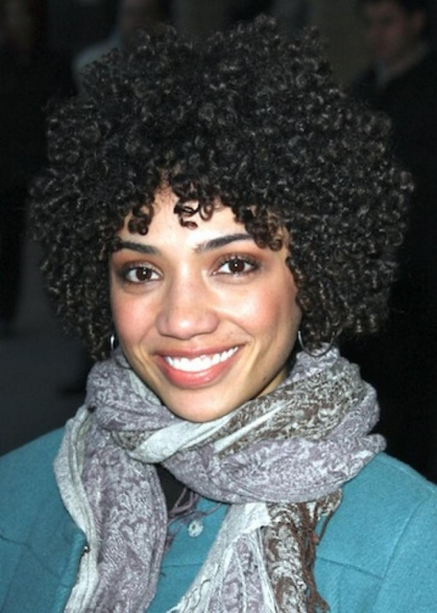 New Short Curly Black Hairstyles