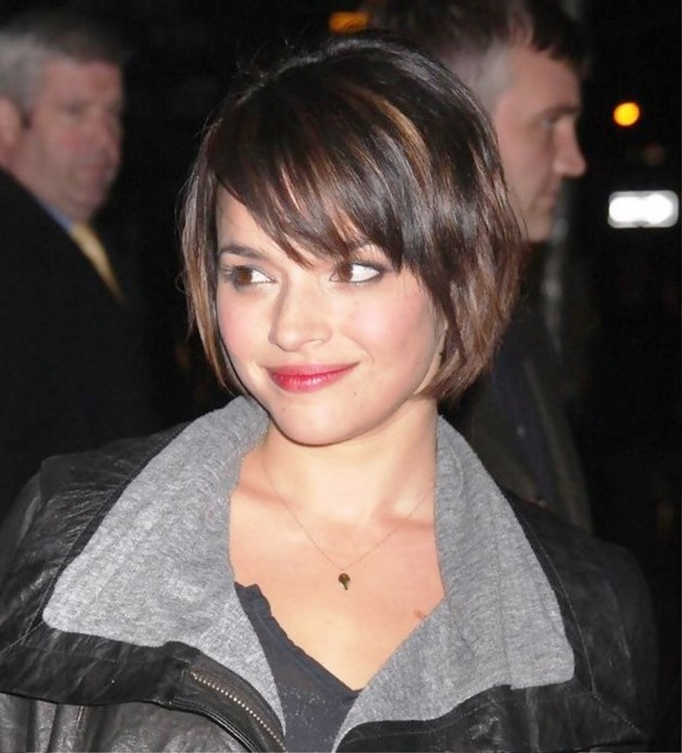 Norah Jones Cute Short Bob Hairstyle