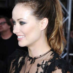 Olivia Wilde Casual Loose Ponytail Hairstyles
