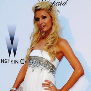 Paris Hilton Half Up Half Down Wedding Hairstyles