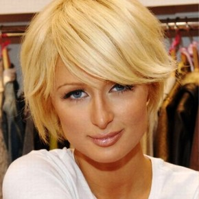 Paris Hilton Short Hairstyle