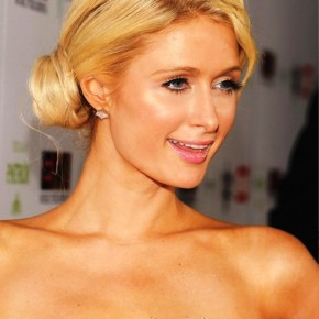 Paris Hilton Side Bun Updos