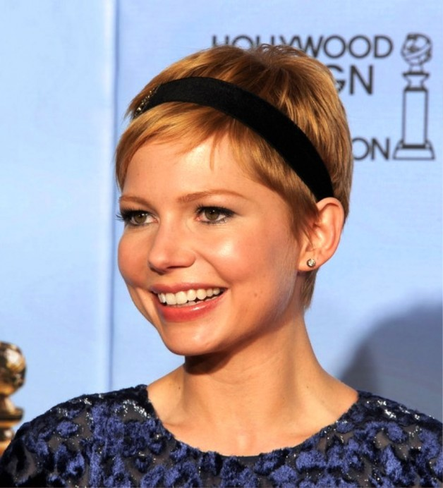 Pixie Haircut With Headband