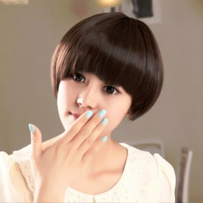 Polished Short Sleek Bob Hairstyle