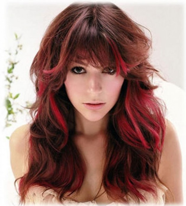 Popular Hairstyles And Colors 2013