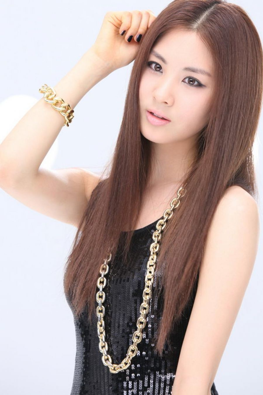 Pictures Of Por Korean Hairstyles For Women Straight Girls
