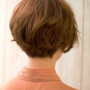 Popular Japanese Haircut Back View