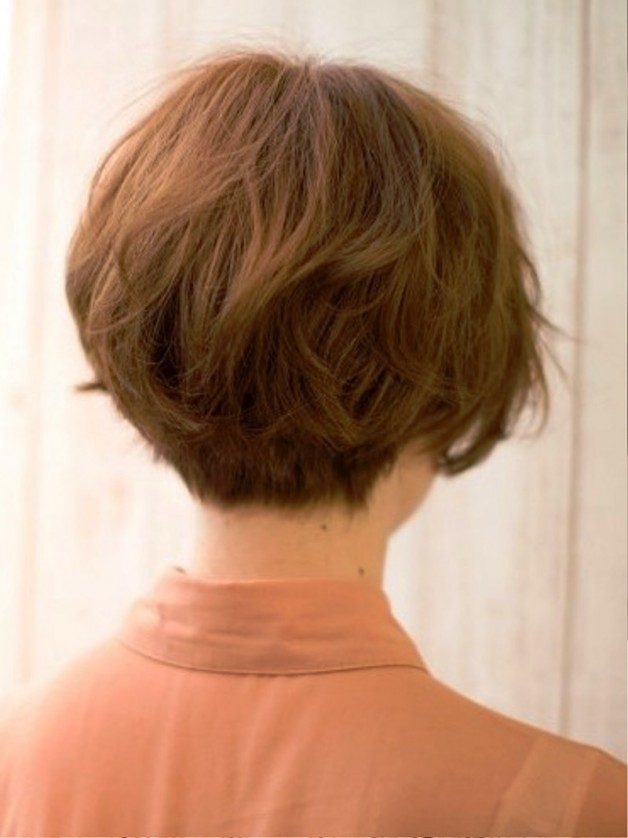 Popular Japanese Haircut Back View Behairstyles Com