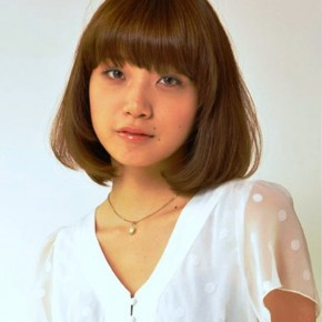 Popular Japanese Hairstyle With Bangs