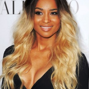 Popular Long Curly Ombre Hair