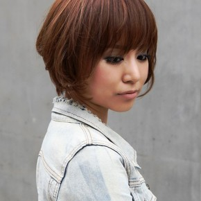 Popular Short Japanese Haircut With Bangs