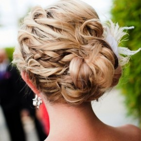 Prom Updo Hair Style