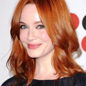 Red Medium Length Hair Styles