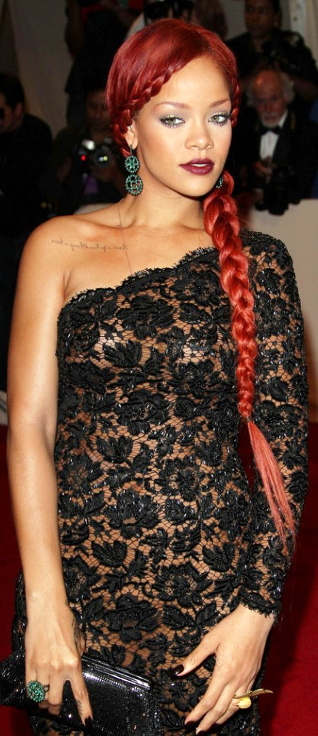 Pictures Of Rihanna Braid