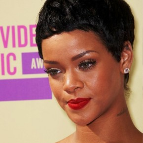 Rihanna Short Black Boy Haircut
