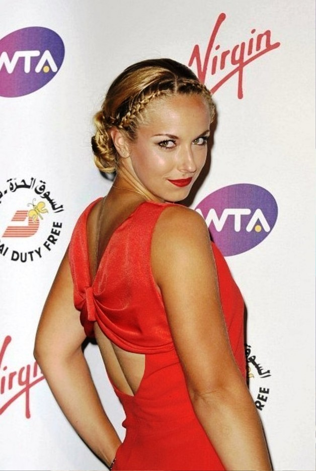 Sabine Lisicki Braided Hairstyle1