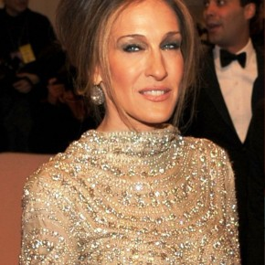 Sarah Jessica Parker French Twist Updo For Women Over 50