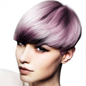 Scene Hairstyles Short Purple